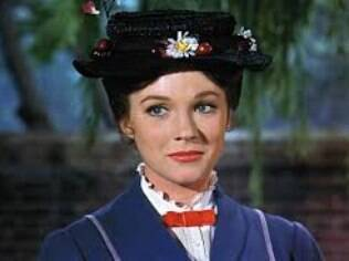 Julie Andrews em cena de 'Mary Poppins'