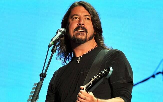 O líder do Foo Fighters, Dave Grohl