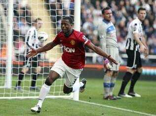Evra, lateral do Manchester United