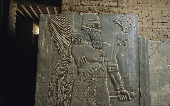 Nimrud, no norte do Iraque, já foi capital do império assírio