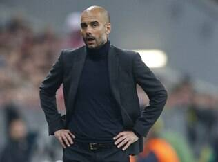 Pep Guardiola, técnico do Bayern de Munique