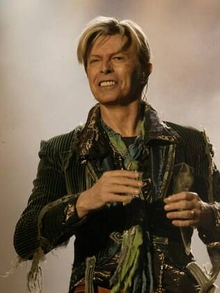 O cantor David Bowie