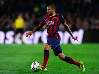Daniel Alves, lateral do Barcelona