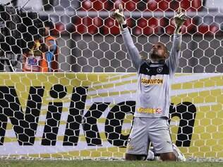 Jefferson, goleiro do Botafogo