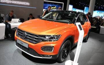 Volkswagen revela o novo SUV T-Roc, com a mesma base do Golf
