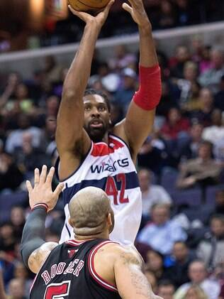 Nenê foi titular no Washington Wizards