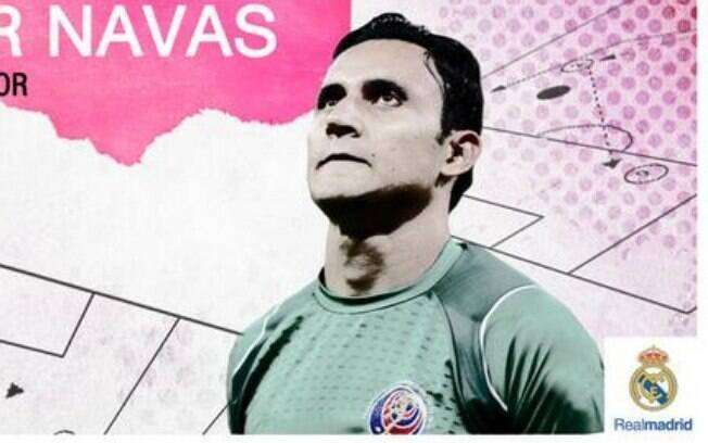 Keylor Navas é o novo reforço do Real Madrid