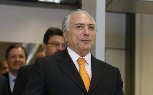 O vice-presidente Michel Temer: se Dilma sofrer o impeachment, ele assume o Poder Executivo