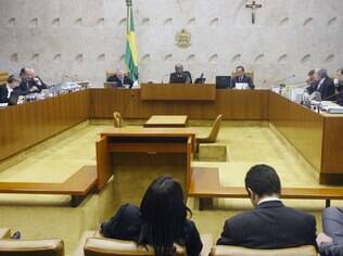O plenário do Supremo Tribunal Federal