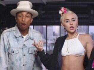 Pharrell Williams e Miley Cyrus