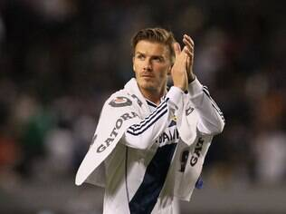 Beckham se despediu do L.A. Galaxy nesta temporada