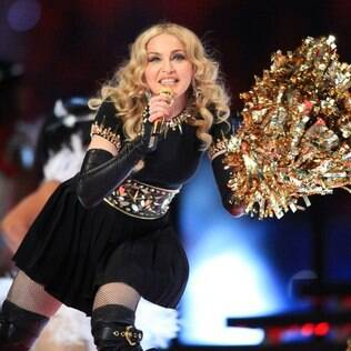 Madonna participou do Super Bowl 2012