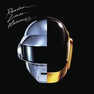 Capa do disco 'Random Access Memories'
