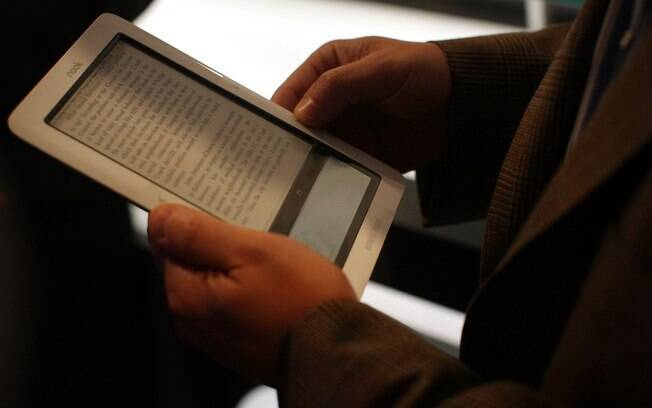 O Nook, da Barnes and Noble, concorrente do Kindle da Amazon