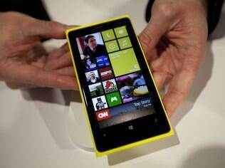 Lumia 920, smartphone da Nokia com sistema operacional Windows Phone