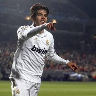 Kaká, meia do Real Madrid