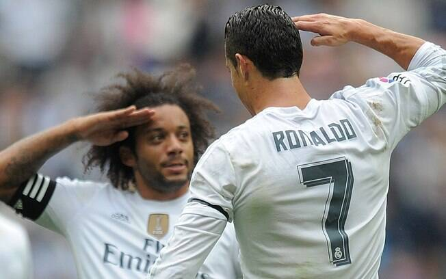 CR7 quer trazer Marcelo do Real Madrid à Juventus