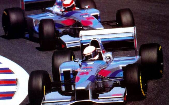 A Pacific disputou as temporadas de 1994 e 1995 da F1
