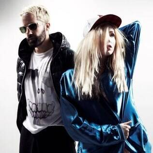 O duo britânico The Ting Tings