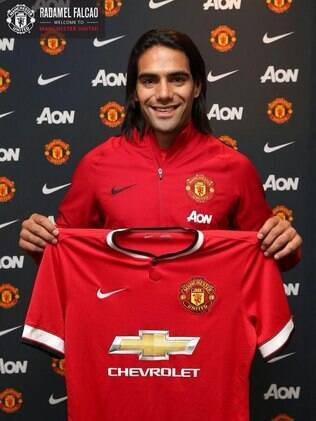 Falcao García, atacante do Manchester United