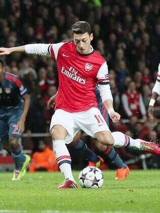 Ozil: principal reforço do Arsenal na temporada