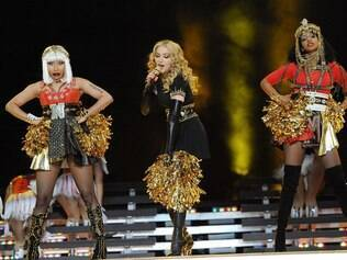 Nicki Minaj, Madonna e M.I.A. no Super Bowl