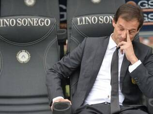 Massimiliano Allegri, técnico do Milan