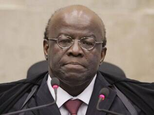 Última sessão do presidente do Supremo Tribunal Federal, Joaquim Barbosa