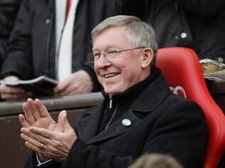 Alex Ferguson, técnico do Manchester United