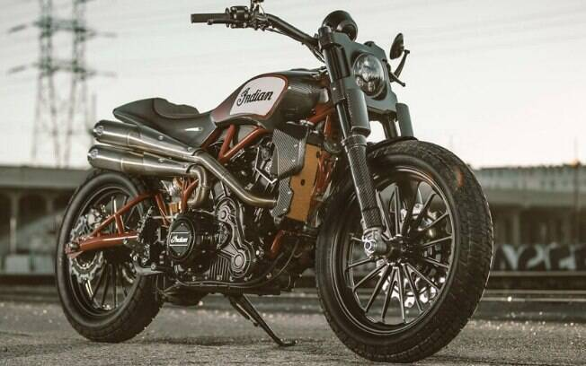 Indian Scout FTR1200 Custom: estilo arrojado das pistas