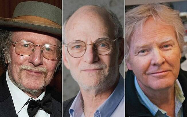 Jeffrey C. Hall, Michael Rosbash e Michael W. Young são os vencedores de 2017 do Nobel de Medicina
