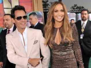 Marc Anthony e Jennifer Lopez: dívidas