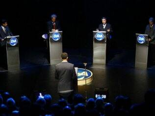 O debate da TV Alterosa foi o mais acirrado