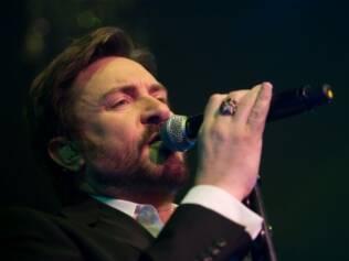 Simon Le Bon, vocalista do Duran Duran