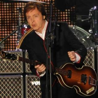 Paul McCartney no estádio do River Plate