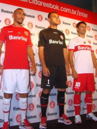 Novos uniformes do Inter