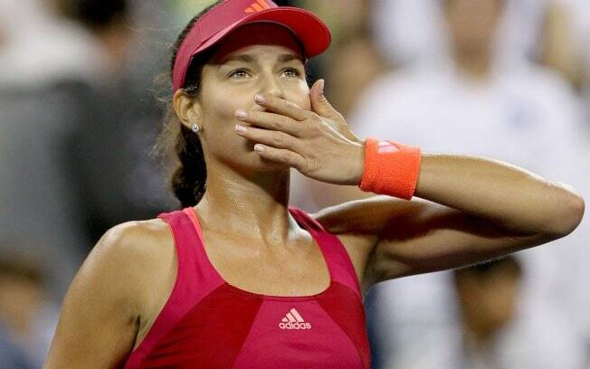 A sérvia Anna Ivanovic superou a americana Sloane Stephens e passou para as oitavas de final do US Open