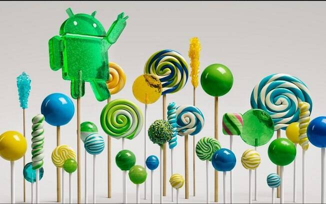 Android 5.0 Lollipop é a mais nova versão do sistema do Google