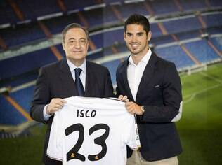 Isco será o camisa 23 do Real Madrid