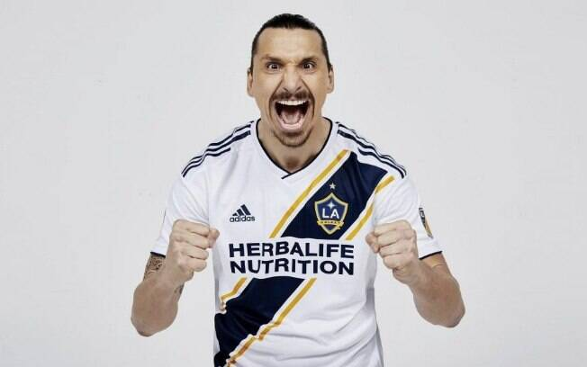 Ibrahimovic atualmente defende o Los Angeles Galaxy