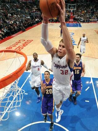 Blake Griffin, ala-pivô do Clippers