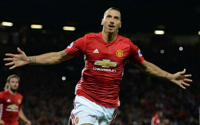 Zlatan Ibrahimovic, atacante do Manchester United