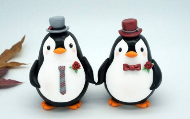 Pinguins definitivamente elegantes