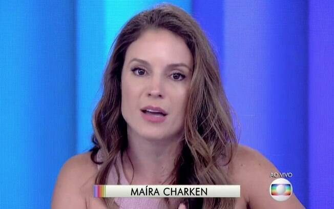 Maíra Charken assume a bancada do