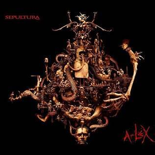 A capa do disco 'A-Lex', do Sepultura