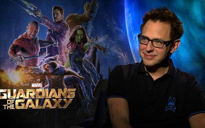 James Gunn foi demitido do comando da franquia