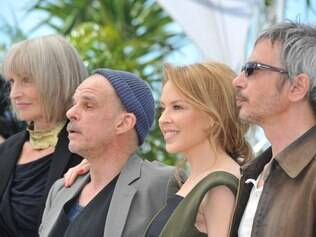 Edith Scob, Denis Lavant, Kylie Minogue e Léos Carax, de 'Holy Motors'