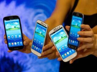 Galaxy S III, um dos principais concorrentes do iPhone 5