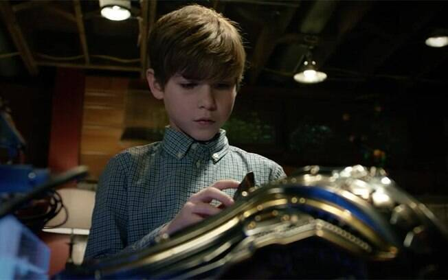 Jacob Tremblay em cena de O Predador: ele é o grande trunfo do filme