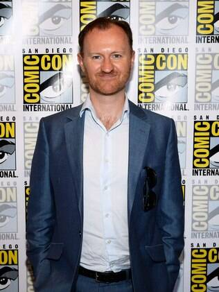 O ator Mark Gatiss na Comic-Con International 2013